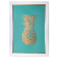 GOLD FOIL PINEAPPLE 1