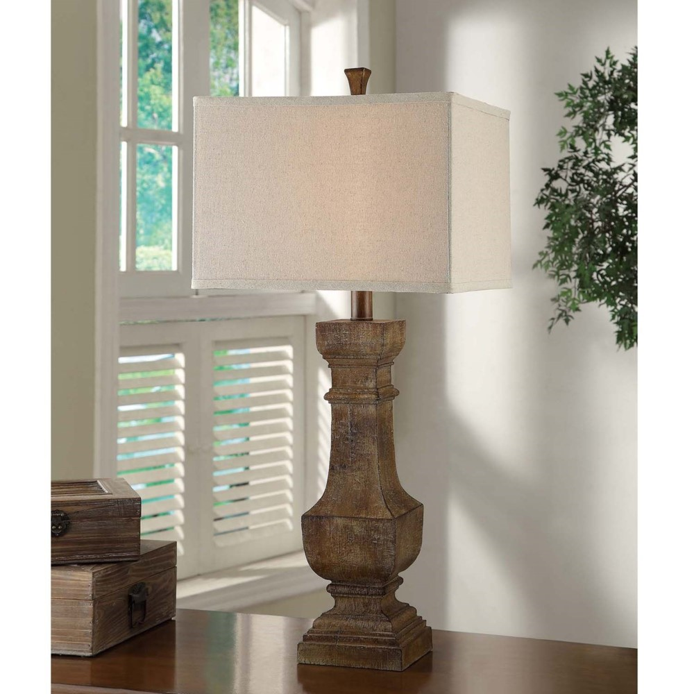 Crestview collection balustrade table lamp geotapseo Gallery