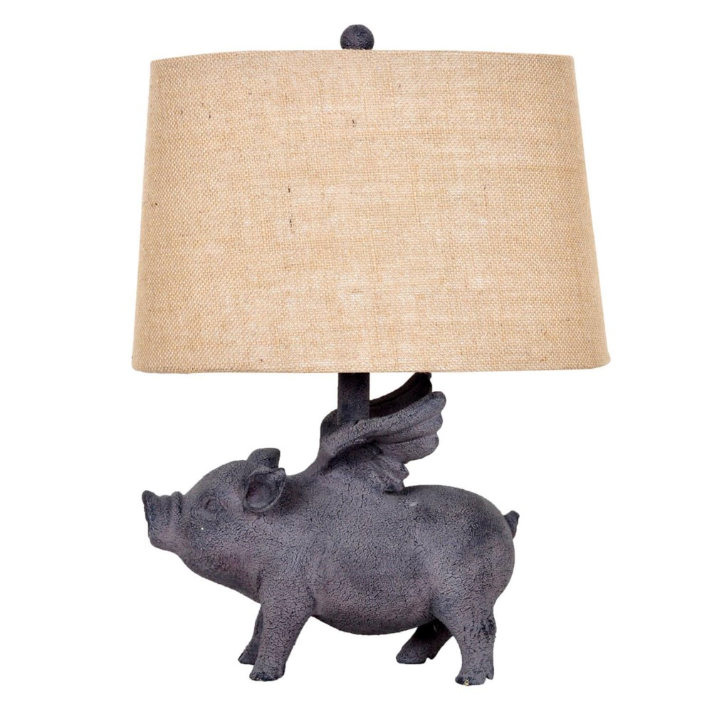 Crestview collection hogs fly table lamp geotapseo Gallery