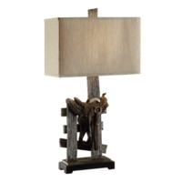 Saddle Table Lamp