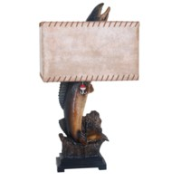 Walleye Table Lamp