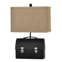 Lunch Box Table Lamp