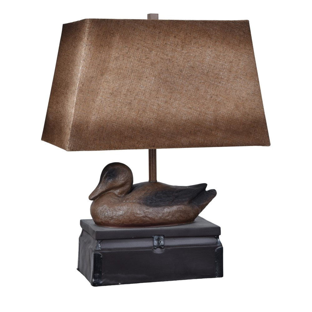 Crestview collection prev next vintage duck table lamp geotapseo Gallery