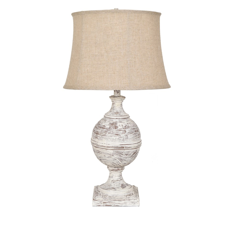 Crestview collection post knob table lamp cvavp841 geotapseo Gallery