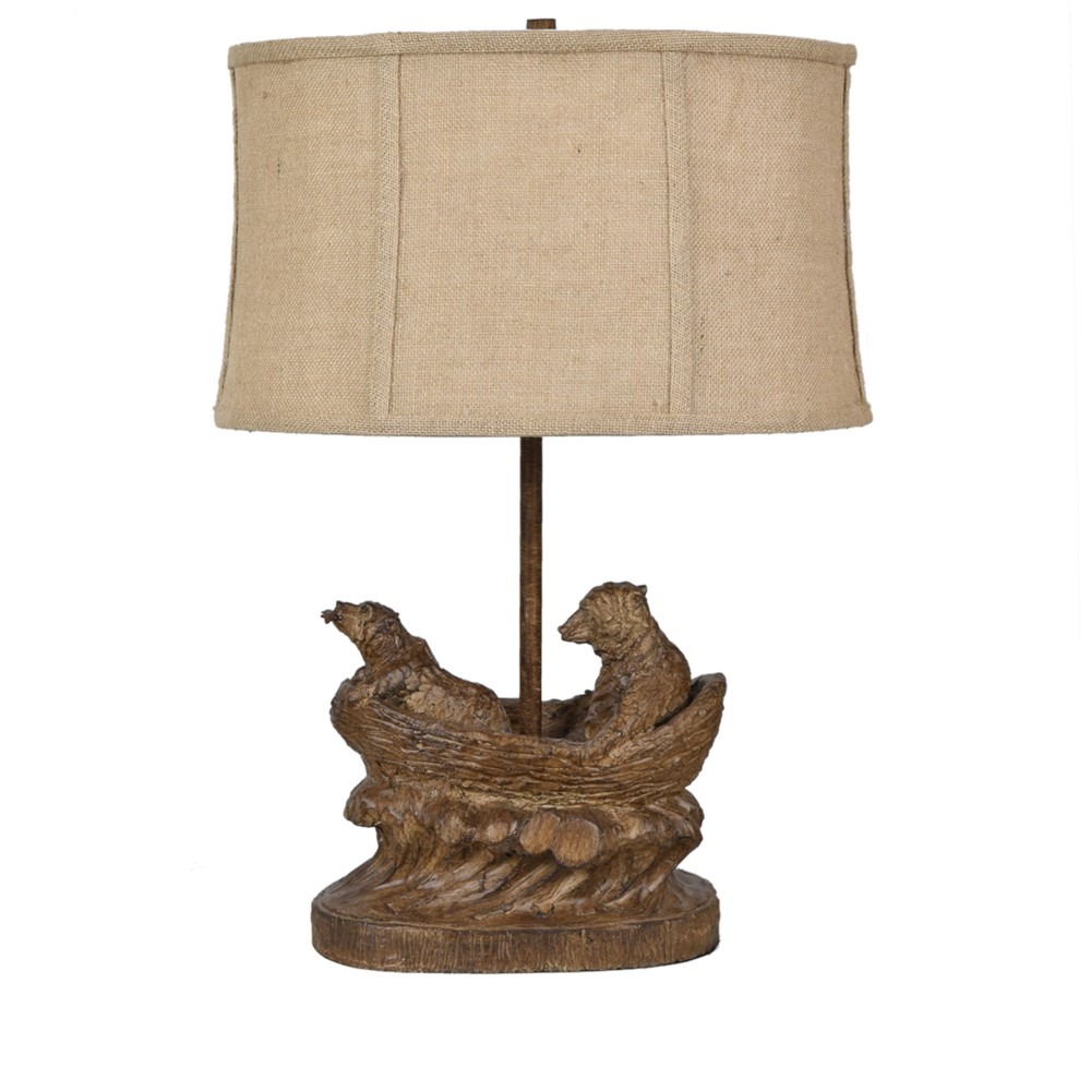 Crestview collection bear expedition table lamp geotapseo Choice Image