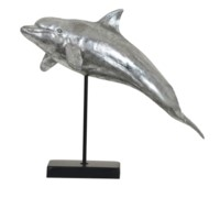 Dolphin Jump Statue