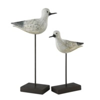 Coastal Bird Statues
