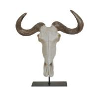 Gnu Head Statue