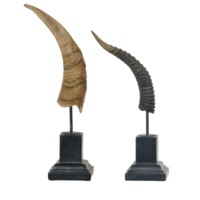 Horn Statues