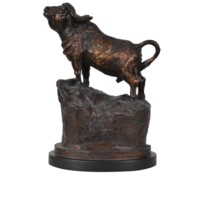 Bull Head Statue