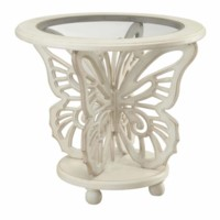 Bethany White Butterfly Table