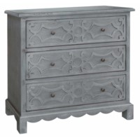 Aspen Distressed 3 Drawer Chest