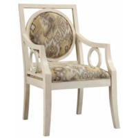 Lisbon Antique White Pattern Chair