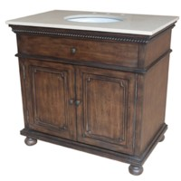 "Brighton 2 Door 36"" Vanity Sink"