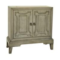 Lancaster 2 Door Grey Cabinet