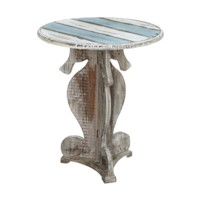 Nantucket Seahorse Accent Table