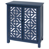 INDIGO 2 DOOR MIRRORED CABINET