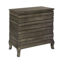 Beacon Hill 4 Drawer Bronze Metallic Chest