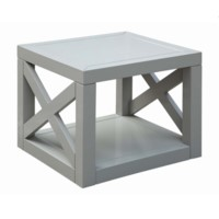 Dylan French Grey Set of Bunching Tables