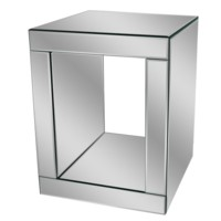 Fletcher Mirrored End Table