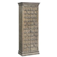 Sedgwick Overlaid Fretwork Tall Cabinet