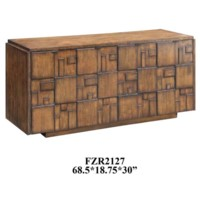 Hutchison Sideboard Chestnut Finish