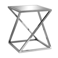 Bentley Chrome Z Accent Table