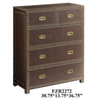 Churchill Faux Leather Chest