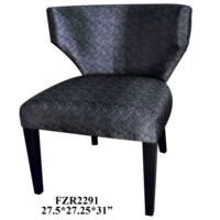 Sinclair Shaped Contemporary Low Back Chair