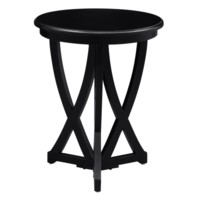 Duvall Black Accent Table