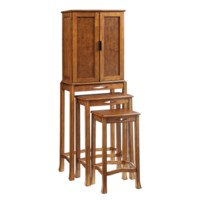 Louis Tall 2 Door Cabinet