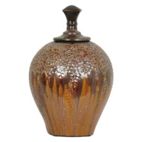Medium Hera Lidded Vase