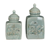 French Bird Containers