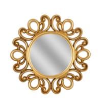 Golden Lace Mirror