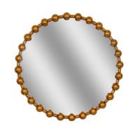 Bead Round Mirror