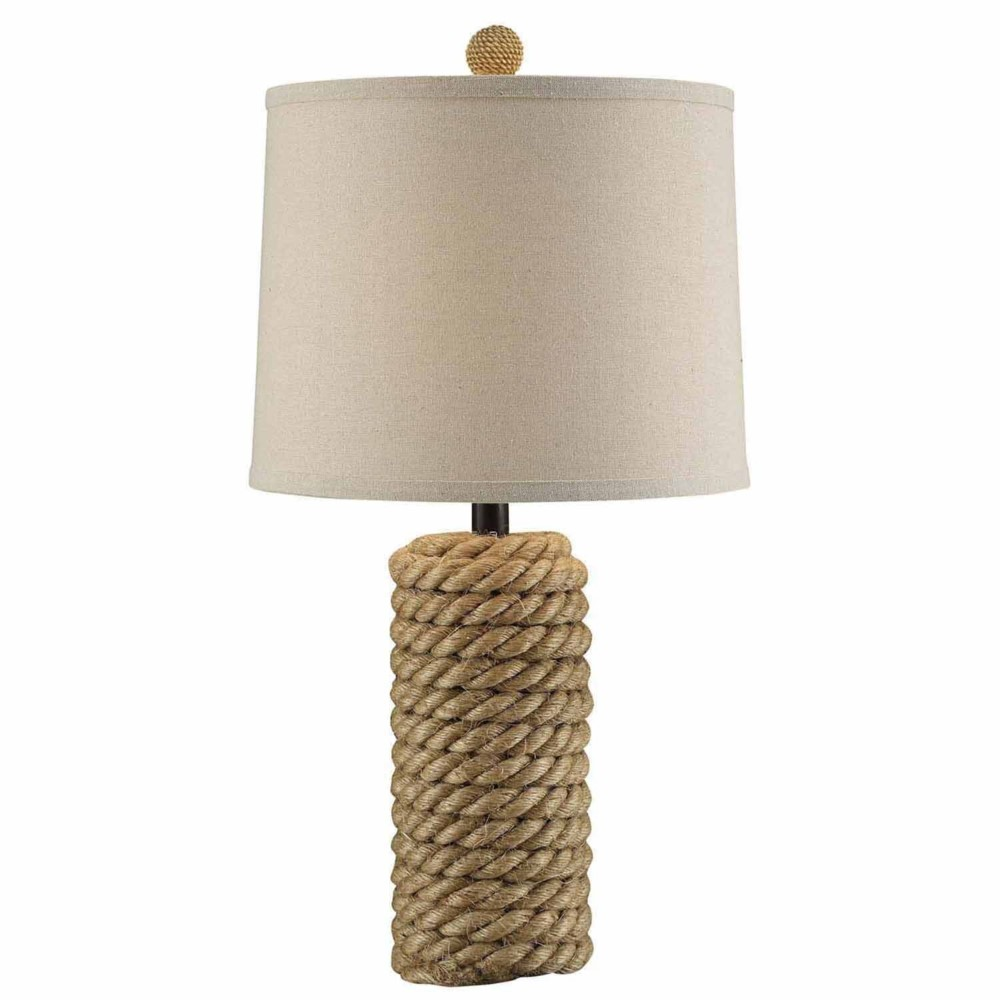 Crestview collection prev next rope bolt table lamp geotapseo Gallery