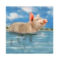 """PIG IN PARADISE"""
