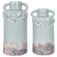 Sea Shell Vases
