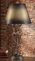 Rustic Iron Table Lamps