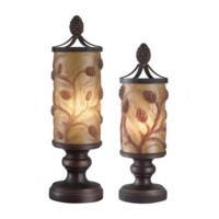 Autumn's Light Accent Lamp Set