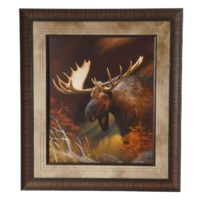 """MOOSE PORTRAIT"""