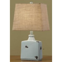 Blues Pottery Table Lamp