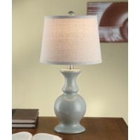 Sand Dune Blue Table Lamp