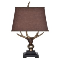 Monarch Antler Table Lamp
