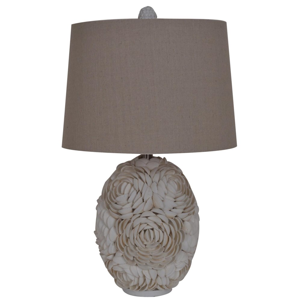 Crestview collection calypso shell table lamp geotapseo Gallery