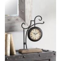 Blacksmith Table Clock