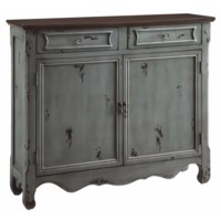 Greystone 2 Door 2 Drawer Cupboard