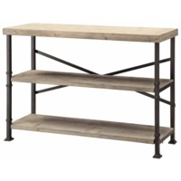Midtown Wood and Metal Console