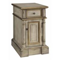 Victoria 1 Drawer Chairside Cabinet