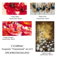 Exquisite transitional set of 4